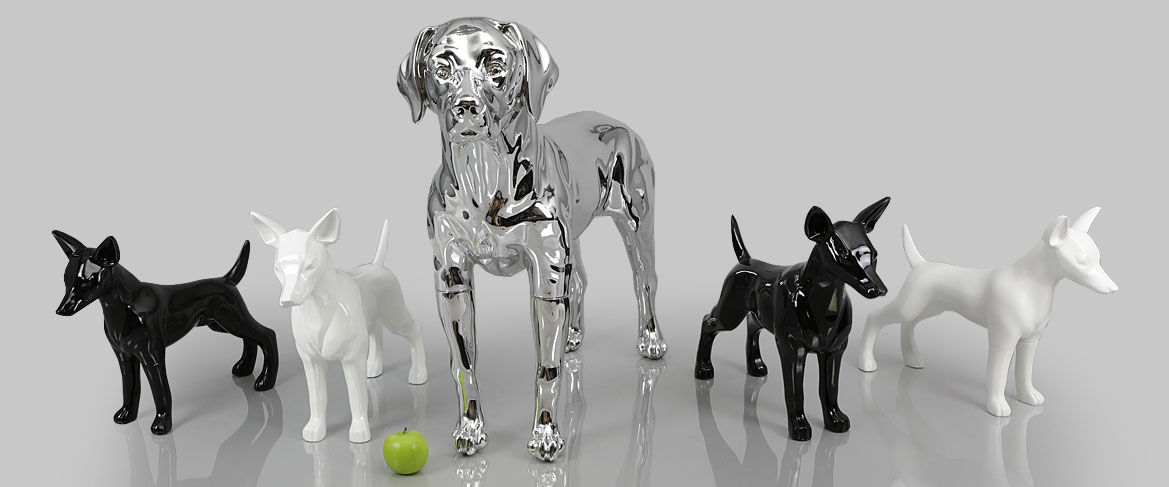 how to make a dog mannequin