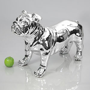 Dog Mannequin Harold - Chrome